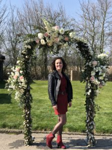 Bloemenboog, Prieel, bloemenprieel, flowerwall